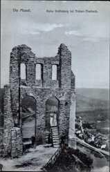 Postcard Traben Trarbach Rheinland Pfalz, Ruine Fräfinburg, Treppe, Mauerwerk