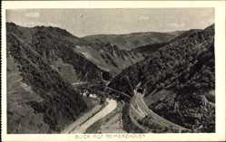Postcard Reimerzhoven Altenahr, Gebäude, Gleise, Tunnel, Einfahrt, Berge, Tal