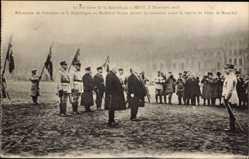 Postcard Metz, 8 Décembre 1918, Président Poincaré, Maréchal Pétain