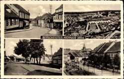 Postcard Benneckenstein Oberharz am Brocken, Dietrich Klagges Platz, Gustloff Straße
