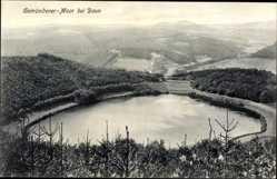 Postcard Daun in der Eifel Rheinland Pfalz, Gemündener Maar