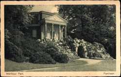 Postcard Oranienbaum Wörlitz im Kreis Wittenberg, Pantheon
