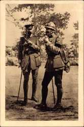 Postcard Jean d'Orleans, Duc de Guise, En 1914 ne pouvant obtenir, malgre de multiples