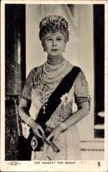 Ak Her Majesty the Queen Mary, Maria von Teck, Frau von Georg V.