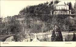 Postcard Aachen in Nordrhein Westfalen, Partie am Lousberg, Gebäude mit Kuppeldach
