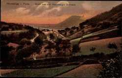 Postcard Porta Westfalica in Nordrhein Westfalen, Blick aus der Hausberger Schweiz