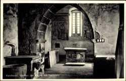 Postcard Kentheim Bad Teinach Zavelstein im Nordschwarzwald, Inneres der Kirche