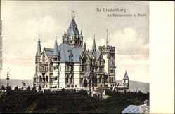 Postcard Königswinter im Rhein Sieg Kreis, Blick auf die Drachenburg