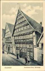 Postcard Osnabrück in Niedersachsen, Renaissance Haus, Bierstraße