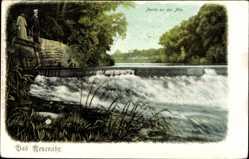 Postcard Bad Neuenahr Ahrweiler in Rheinland Pfalz, Partie an der Ahr