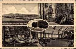 Postcard Lichtenberg Salzgitter in Niedersachsen, Burgberg, Restauration, Inh. H. Semp