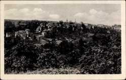 Postcard Eisenberg im Saale Holzland Kreis, Panorama der Stadt