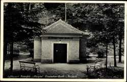 Postcard Rotenfels Gaggenau im Murgtal Kreis Rastatt, Elisabethen Quelle im Kurpark