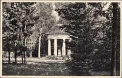 Ak Pokój Bad Carlsruhe Schlesien, Am Erdmannstein, Pavillon