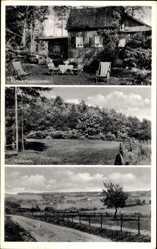 Postcard Nonnenbach Blankenheim an der Ahr, Waldcafe Pension Haus Tannenhorst