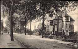 Postcard Gronau im Münsterland Westfalen, Blick in die Eperstraße, Villa, Wasserturm