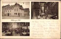 Postcard Soest in Nordrhein Westfalen, Hellweger Hof, Fritz Andernach, Jakobitor