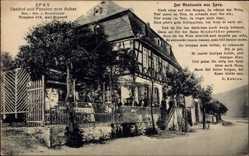 Postcard Spay Rheinland Pfalz, Gasthof und Pension zum Anker, J. Rindsfüsser