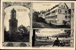 Postcard Andernach im Landkreis Mayen Koblenz, Hotel Schaefer, am Schänzchen