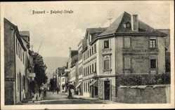 Postcard Boppard im Rhein Hunsrück Kreis, Bahnhofstraße, Landesproduktenhandlung