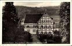 Postcard Elkeringhausen Hochsauerland, Fremdenpension Haus Junkern