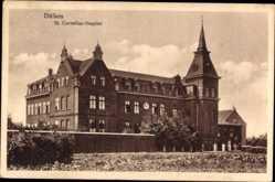 Postcard Dülken Viersen in Nordrhein Westfalen, St. Cornelius Hospital