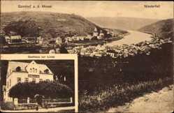 Postcard Kobern Gondorf Rheinland Pfalz, Mosel, Niderfell, Gasthaus zur Linde