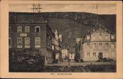 Postcard Alf an der Mosel Rheinland Pfalz, Brückenstraße, Hotel zur Post
