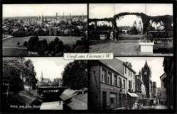 Postcard Gronau im Münsterland Westfalen, Pergola im Hindenburgpark, Bahnhofstraße