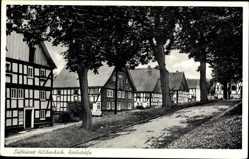 Postcard Hilchenbach im Kreis Siegen Wittgenstein Nordrhein Westfalen, Kirchstraße