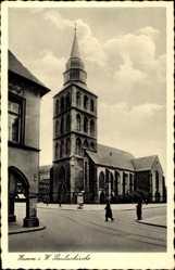 Postcard Hamburg Mitte Hamm, Ansicht der Pauluskirche