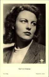 Ak Schauspielerin Gerhild Weber, Ross Verlag A 3279 1