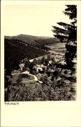 Foto Ak Sohlbach Netphen, Gesamtansicht vom Berg aus gesehen