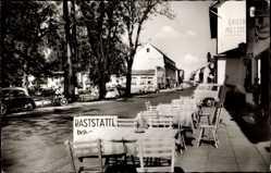 Postcard Straßenhausen Westerwald, Ortschaft mit Raststätte