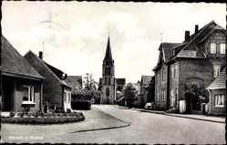 Postcard Mesum Rheine in Nordrhein Westfalen, Blick zur Kirche