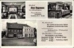 Postcard Neuenkirchen im Münsterland, Gasthof Aloys Hagemann, Emsdeltener Straße 5