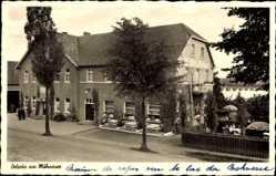 Postcard Delecke Möhnesee im Kreis Soest Nordrhein Westfalen, Hotel de la Troupe