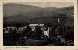 Postcard Güdenhagen Brilon im Hochsauerlandkreis, Blick zum Wald und Berg