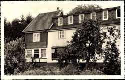 Postcard Übersdorf Nümbrecht im Oberbergischen Kreis, Haus Wiesengrund, Rückansicht