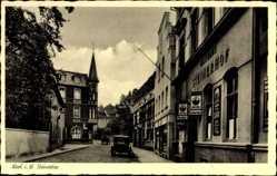 Postcard Werl im Kreis Soest Nordrhein Westfalen, Steinertor, Gasthaus Steinerhof