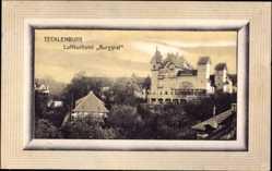 Passepartout Ak Tecklenburg in Nordrhein Westfalen, Luftkurhotel Burggraf