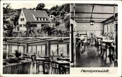 Postcard Obereipermühle Eitorf, Gasthof Obereipermühle, Inh. Otto Reisbitzen