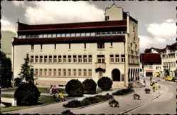 Postcard Vaduz Liechtenstein, Ansicht vom Rathaus, Straßenpartie