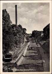 Postcard Zeitz an der Weißen Elster im Burgenlandkreis, Wendische Berg, Drahtseilbahn