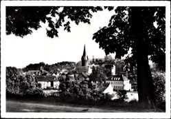 Postcard Ottweiler im Kreis Neunkirchen Saarland, Blick von Westen auf den Ort