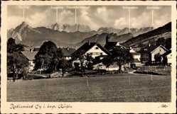 Postcard Oy Mittelberg Bayrisches Allgäu, Säuling, Zugspitze, Schneefernerkopf, Ort