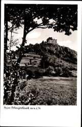 Postcard Schönberg Geroldseck Seelbach Baden, Blick auf Ruine Hohengeroldseck