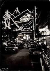 Ak Essen im Ruhrgebiet, Am Markt, Lichtwochen 1963, Europäische Impressionen