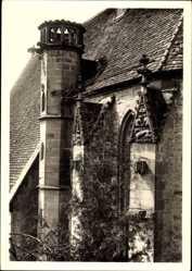 Foto Ak Creglingen an der Tauber, Herrgottskirche, Detailansicht