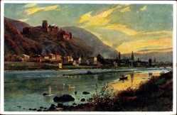 Künstler Ak Hoffmann, H., Heidelberg am Neckar, Von der Ziegelhäuser Landstraße